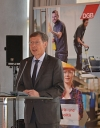 """Carsten Sieling bei DGB-Tagung in Berlin: """"Mitbestimmung für eine starke Industrie"""" in der Landesvertretung Bremen"""